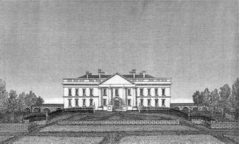 original white house design construction white house museum