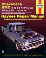 haynes manuals 174 chevy tahoe 1995 1998 repair manual manuals parts lists and brochures