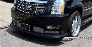 Cadillac Escalade Custom Parts Cadillac Escalade Sarona Front Add On Lip Cd 005 Fa By