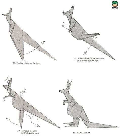 Origami Kangaroo Easy - kangaroo origami 3 origami kangaroos