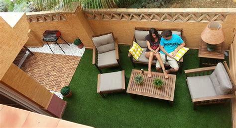 ideas decoracion terraza barata cesped artificial barato para terrazas 193 ticos jardines o