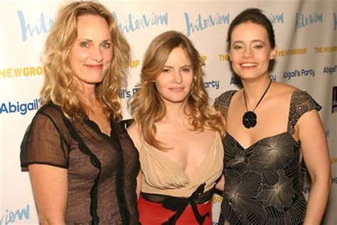 photo coverage: opening night at abigail's party