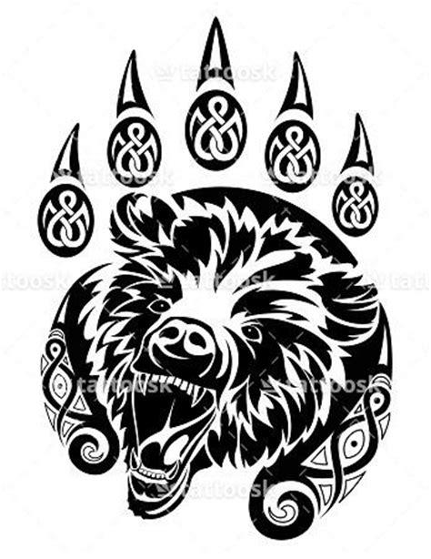 tribal x tattoo luzern pata de urso tribal tattoo stencil foto 1 tatuagens