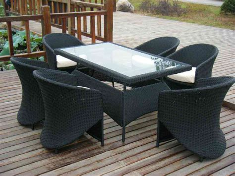 Wicker Patio Table And Chairs Splendid Look Outdoor Wicker Coffee Table With Chairs Idea Trends4us