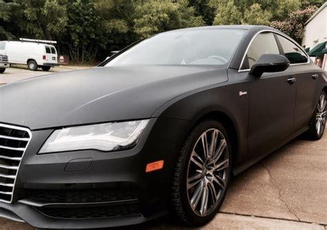 matte black car matte black car wrap black wraps
