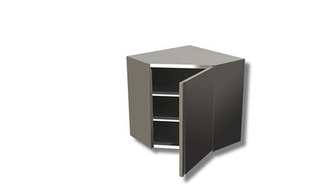 Hinged Shelf by Hinged Door And 2 Shelves Ristopro