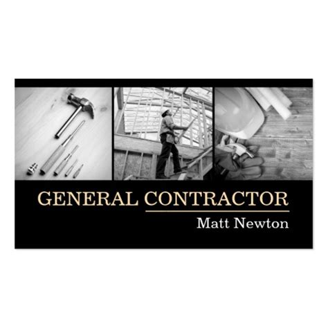 business card templates general contractors construction engineer business cards bizcardstudio