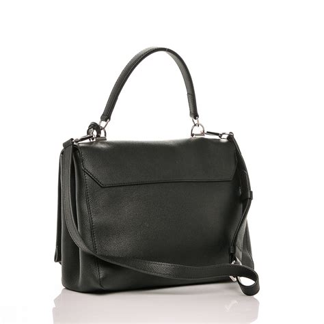 Dompet Louis Vuitton Lockme Ii Soft Calf Leather Hitam M62328 louis vuitton soft calfskin lockme ii noir black 184927