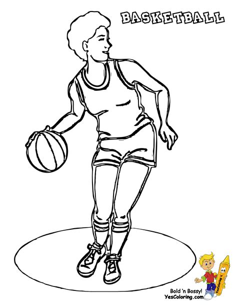 free coloring pages of basketball jersey