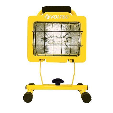 500 watt halogen light voltec 500 watt heavy duty halogen work light 08 00609