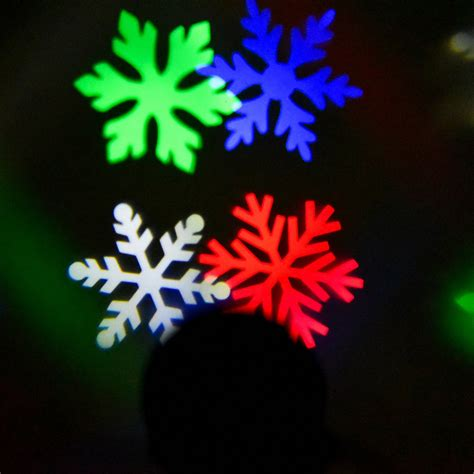 outdoor light laser snowflake projector rgb color