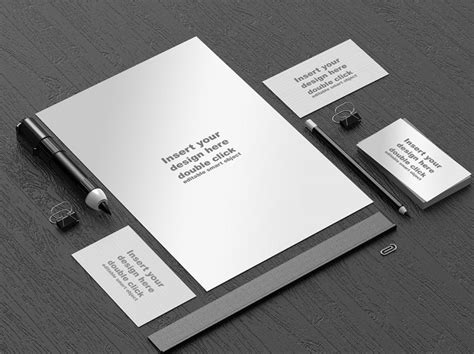 Download Office Stationery Mockup Template Free Psd At Downloadmockup Com Download Free Mockups Psd Mockup Templates