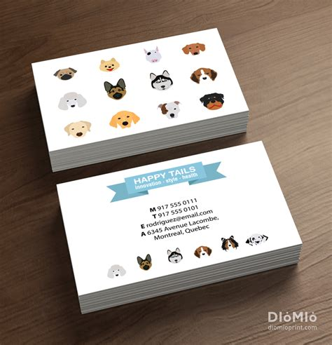 Shop Business Cards Templates by Pet Store Business Cards Custom Business Cards