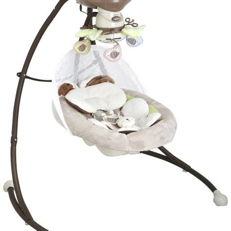 snugglebunny swing fisher price my little snugabunny cradle n swing by fisher