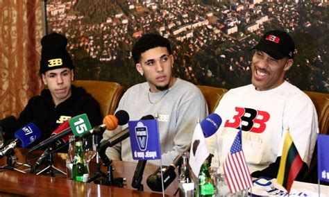 Liangelo Draft Lavar To Put Liangelo In Nba Draft