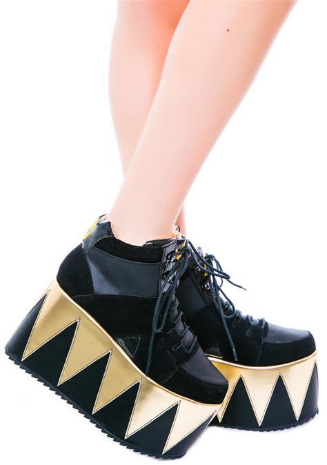 y r u qozmopolitan platform shoes dolls kill