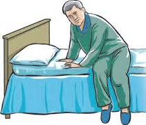 To Get Out Of Bed by Getting Around With Parkinson S Disease Articles Mount