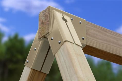 a frame brackets for swing sets brackets for free standing swing set
