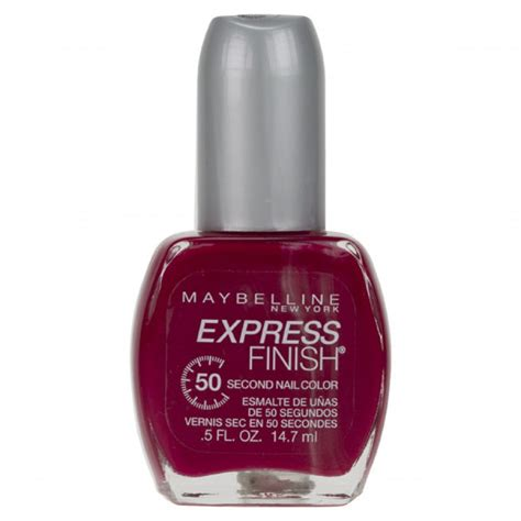 Maybelline Nail maybelline express finish nail 170 crimson