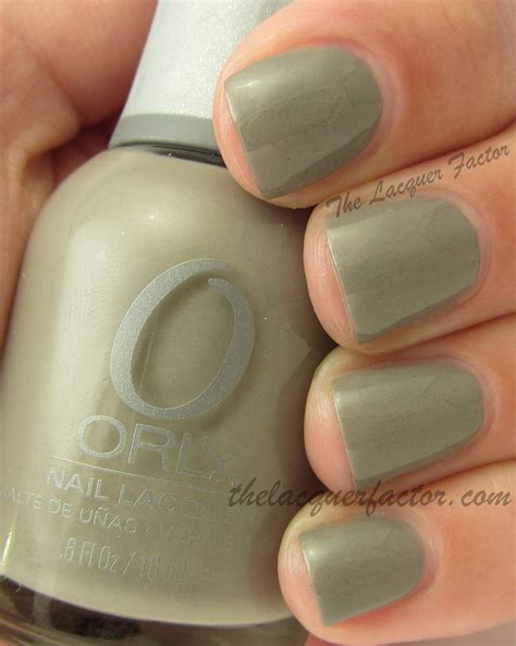 Orly Faint Of the lacquer factor cool