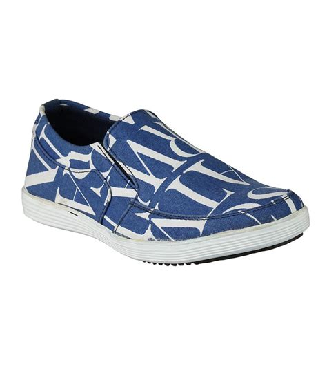 shoe day blue printed shoes price in india buy shoe day