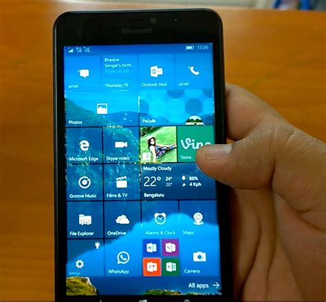 lumia 640 windows 10 mobile windows 10 mobile build 10586 11 on lumia 640 xl lumia