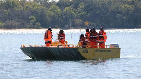 redland bay boat r redland ses conducts flood boat training on moreton bay
