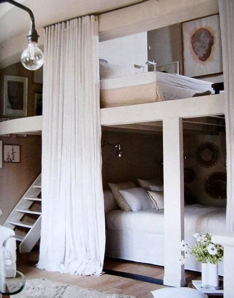 Bunk Bed Privacy Curtain Cool Bed The Privacy Guest Room Bunk Beds With Privacy Curtains Home Decorating
