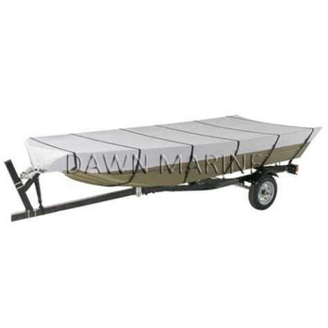 boat covers for jon boats 300d jon boat cover dawn marine