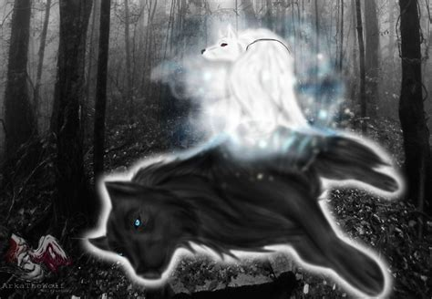 black and white wolf wallpaper black and white wolf 32 hd wallpaper hdblackwallpaper com