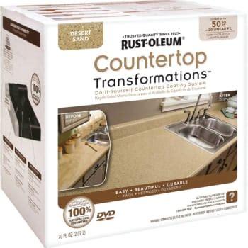 Rustoleum Desert Sand Countertop Transformation Kit by 1 Quart Rust Oleum Countertop Transformations Large Kit