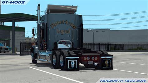 kenworth t800 truck gt mods kenworth t800 2016 v0 1 truck american truck
