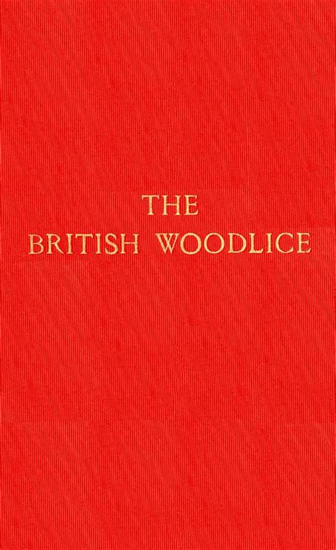 the project gutenberg ebook of in unfamiliar england by the project gutenberg ebook of the british woodlice by