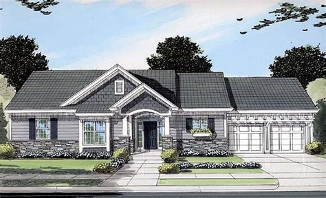 bungalow ranch house plans bungalow craftsman ranch house plan 50089