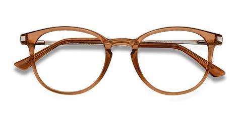 light brown glasses frames mirando light brown metal eyeglasses eyebuydirect