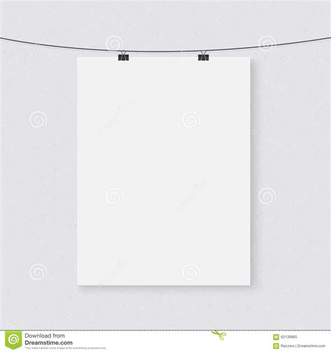 string template photorealistic vector poster on a string template