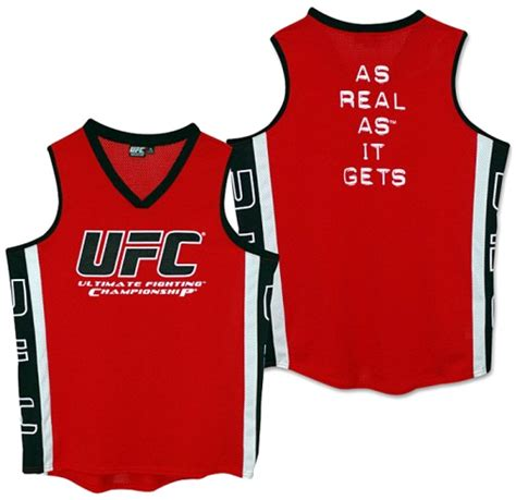 Jersey Ufc ufc as real as it gets fight jersey fighterxfashion