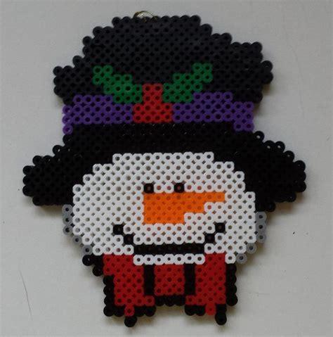 perler joann snowman perler by joanne schiavoni アイロン
