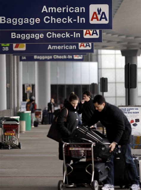 american airlines baggage american lands in bankruptcy the spokesman review