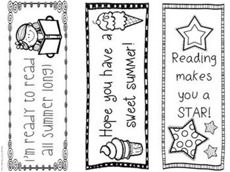 printable summer reading bookmarks summer bookmarks 6 different designs encourage summer