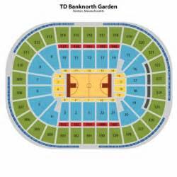 td garden seating chart td garden tickets td garden maps
