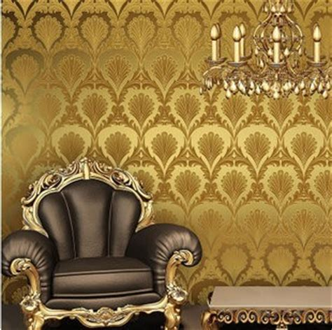 feather wallpaper home decor home decoration yellow color wallpaper gold foil peacock