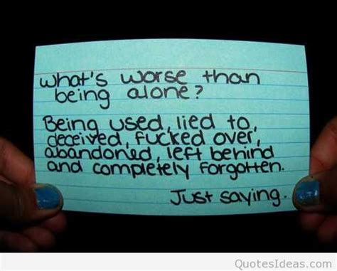 Whats Worse Than In by Being Alone Pictures Images Page 5