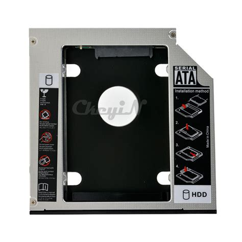 Hdd Caddy 9 5 Mm 12 7 Mm Slot Hardisk Tambahan Second Diskon dvd to hdd ssd 7mm 12 7mm 9 5mm sata 2nd ssd hdd caddy sata drive enclosures for 12 7mm