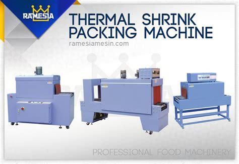 Mesin Wrapping Buku Mesin Thermal Shrink Packaging Mesin Pembungkus Buku Dan