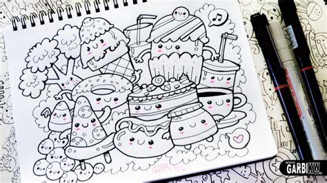 doodle yang bagus 45 contoh cara gambar doodle simple sederhana