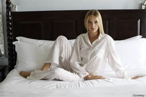 wearing tons to bed robin wright s new pajama line will make you love her even