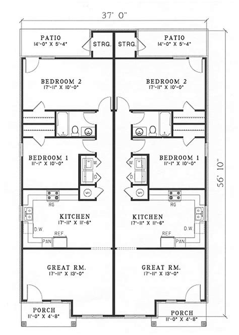 Multi Unit House Plans by Traditional Multi Unit Contemporary House Plans Home