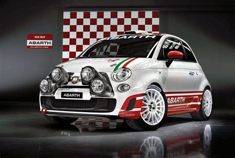 fiat abarth 500 r3t rally car photos 1 of 13