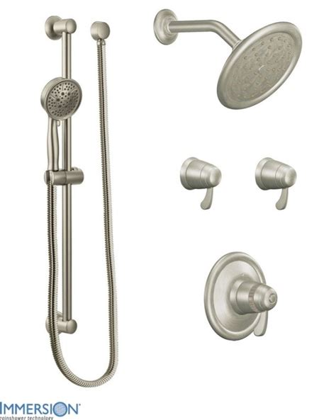 Moen Thermostatic Shower Valve by Faucet 770bn In Brushed Nickel By Moen
